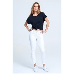 Seven7 Jeans High Rise Slim Straight Jeans